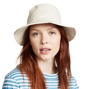 Madewell S-M Cotton Cream Bucket Hat